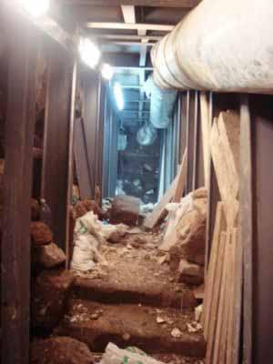 انظر ماذا يجري تحت بيت الله المسجد الاقصى  18112009-5